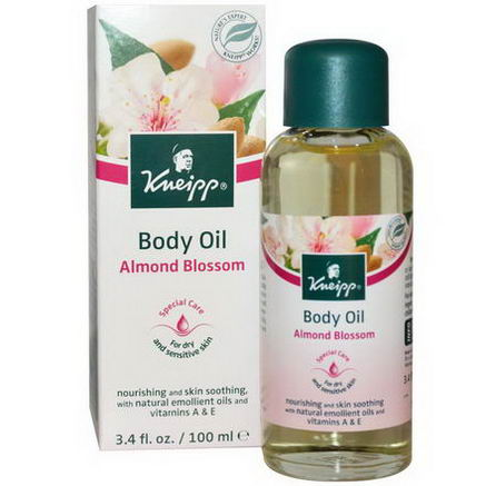 Kneipp, Body Oil, Almond Blossom, 3.4 fl oz (100 ml)