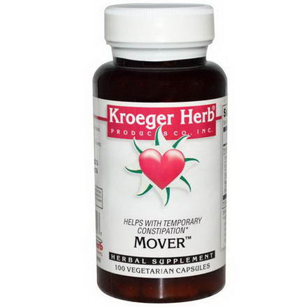 Kroeger Herb Co, Mover, 100 Veggie Caps