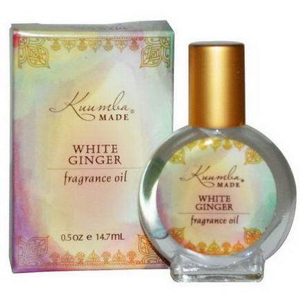Kuumba Made, Fragrance Oil, White Ginger, 0.5oz (14.7 ml)