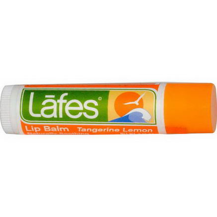Lafe's Natural Body Care, Lip Balm, Tangerine Lemon, 0.15oz