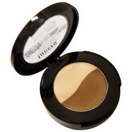 Lavera Naturkosmetic, Beautiful Mineral Eyeshadow Duo, Glamorous Taupe 06, 2g