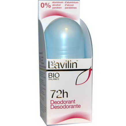 Lavilin, 72h Deodorant, 2.1oz (60 ml)