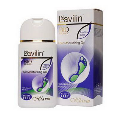 Lavilin, Foot Moisturizing Gel, 100 ml