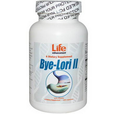 Life Enhancement, Bye-Lori II, with Mastic, 120 Capsules