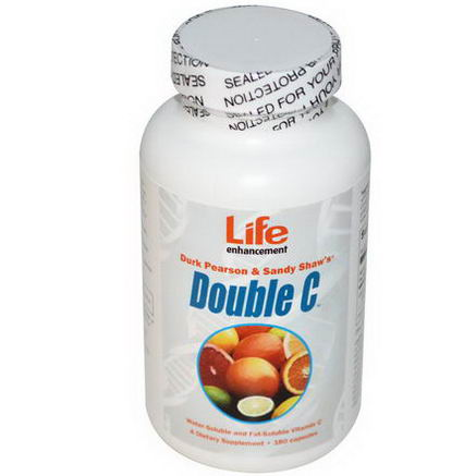 Life Enhancement, Double C, 180 Capsules