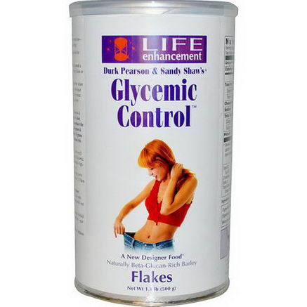 Life Enhancement, Glycemic Control Flakes, 1.1 lb (500g)