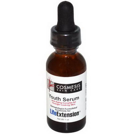 Life Extension, Cosmesis Skin Care, Youth Serum, 1oz