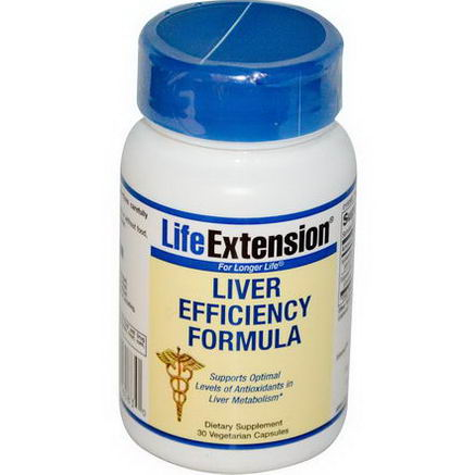 Life Extension, Liver Efficiency Formula, 30 Veggie Caps