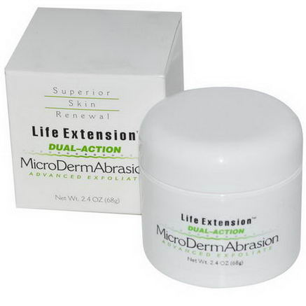 Life Extension, MicroDermAbrasion, Advanced Exfoliate, 2.4oz (68g)