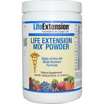 Life Extension, Mix Powder, 14.81oz (420g)