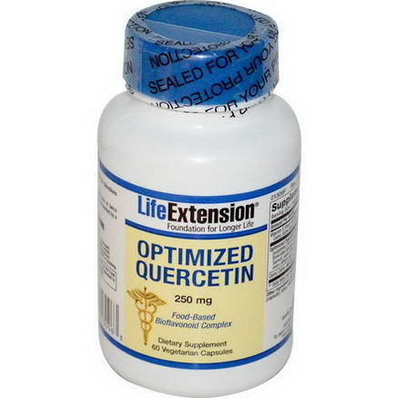 Life Extension, Optimized Quercetin, 250mg, 60 Veggie Caps