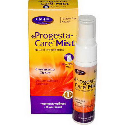Life Flo Health, Progesta-Care Mist, Energizing Citrus, 1 fl oz (30 ml)