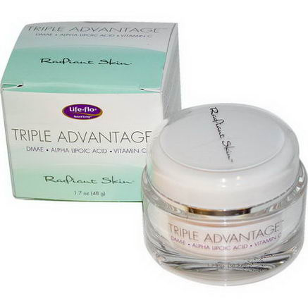 Life Flo Health, Triple Advantage, Radiant Skin, 1.7oz (48g)