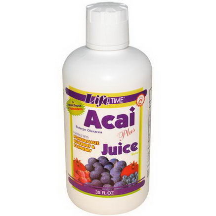 Life Time, Acai Plus Juice Blend, 32 fl oz