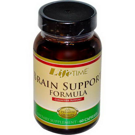 Life Time, Brain Support Formula, 60 Capsules