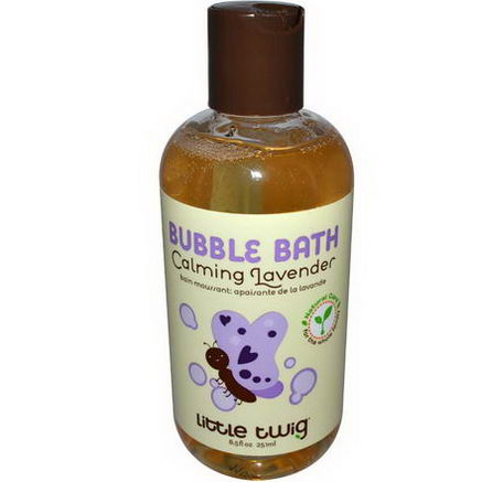 Little Twig, Bubble Bath, Calming Lavender, 8.5 fl oz (251 ml)