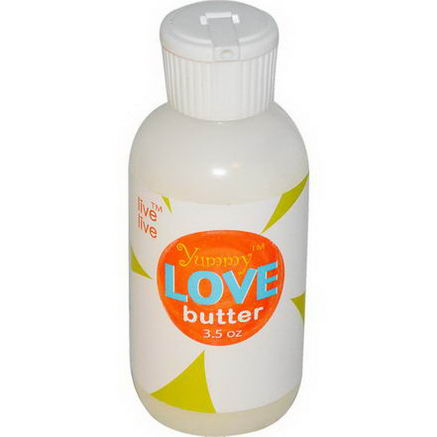 Live Live & Organic, Yummy Love Butter, 3.5oz