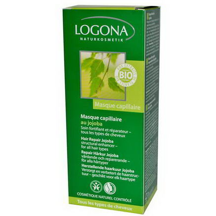 Logona Naturkosmetik, Hair Repair Jojoba, 5.1 fl oz (150 ml)