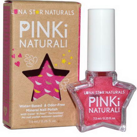 Luna Star Naturals, Pinki Naturali, Mineral Nail Polish, Denver, 0.25 fl oz (7.5 ml)