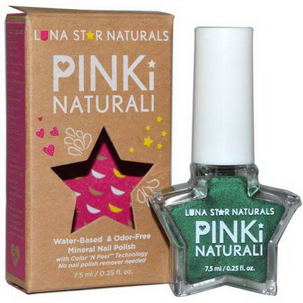 Luna Star Naturals, Pinki Naturali, Mineral Nail Polish, Saint Paul, 0.25 fl oz (7.5 ml)
