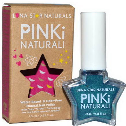 Luna Star Naturals, Pinki Naturali, Mineral Nail Polish, Salem, 0.25 fl oz (7.5 ml)