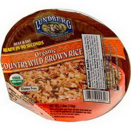 Lundberg, Organic, Countrywild Brown Rice, 7.4oz (210g)