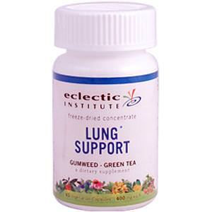 Eclectic Institute, Lung Support, 400mg, 45 Veggie Caps