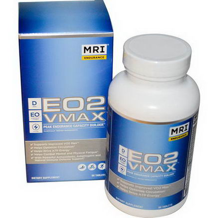 MRI, E02 VMAX, Peak Endurance Capacity Builder, 90 Tablets