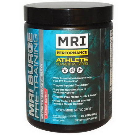 MRI, Surge Pre-Training, Mixed Berry, 240g