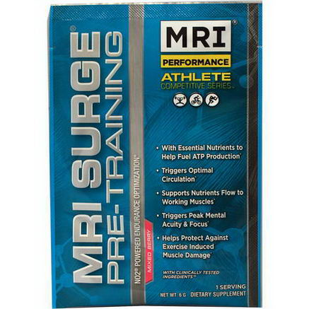 MRI, Surge, Pre-Training, Mixed Berry, 6g