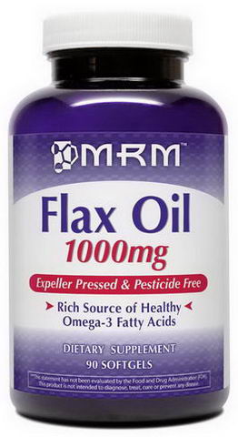 MRM, Flax Oil, 1000mg, 90 Softgels