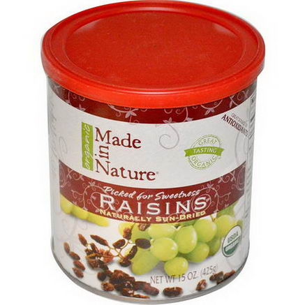 Made in Nature, Organic Raisins, 15oz (425g)
