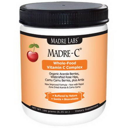 Madre Labs, Madre-C, Whole-Food Vitamin C Complex, 6.35oz (180g)
