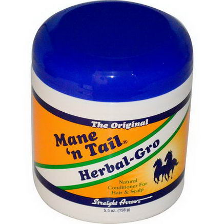 Mane 'n Tail, Herbal-Gro, Natural Conditioner For Hair & Scalp, 5.5oz (156g)
