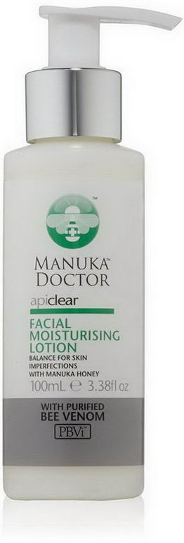 Manuka Doctor, Apiclear, Facial Moisturizing Lotion, 3.38 fl oz (100 ml)