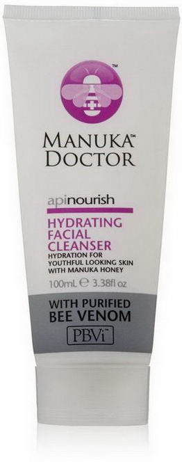 Manuka Doctor, Apinourish, Hydrating Facial Cleanser, 3.38 fl oz (100 ml)