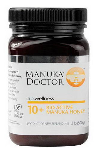 Manuka Doctor, Apiwellness, 10+ Bio Active Manuka Honey, 1.1 lb (500g)