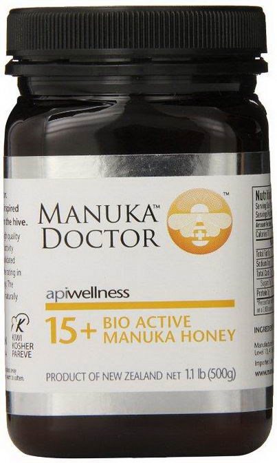 Manuka Doctor, Apiwellness, 15+ Bio Active Manuka Honey, 1.1 lb (500g)