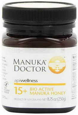 Manuka Doctor, Apiwellness, 15+ Bio Active Manuka Honey, 8.75oz (250g)