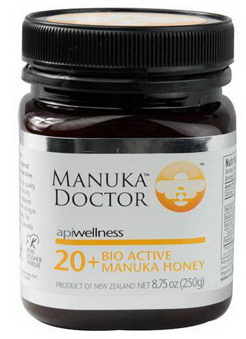 Manuka Doctor, Apiwellness, 20+ Bio Active Manuka Honey, 8.75oz (250g)