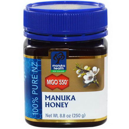 Manuka Health, MGO 550+, Manuka Honey, 8.8oz (250g)