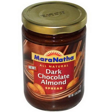 MaraNatha, Dark Chocolate Almond Spread, 13oz (368g)
