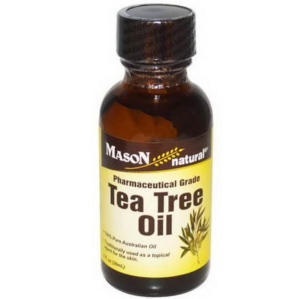 Mason Vitamins, Tea Tree Oil, 1 fl oz (30 ml)