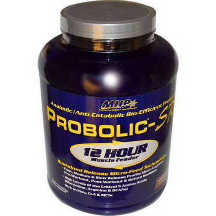 Maximum Human Performance, LLC, Probolic-SR, 12 Hour Muscle Feeder, Chocolate, 4 lbs (1816g)
