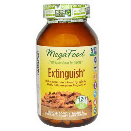 MegaFood, Extinguish, 120 Tablets