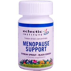 Eclectic Institute, Menopause Support, Soybean Sprout - Black Cohosh, 400mg, 45 Veggie Caps