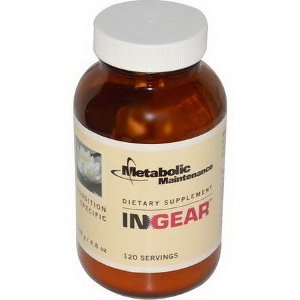 Metabolic Maintenance, InGear, 4.8oz (138g)