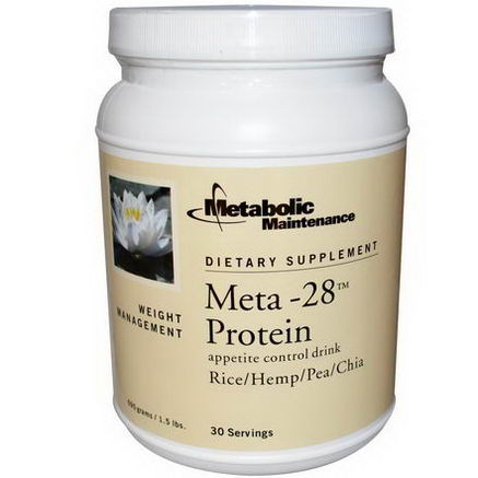 Metabolic Maintenance, Meta-28 Protein, Appetite Control Drink, 1.5 lbs (690g)