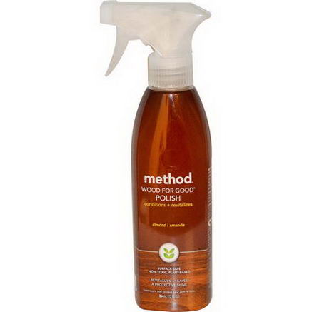 Method, Wood For Good Polish, Almond, 12 fl oz (354 ml)