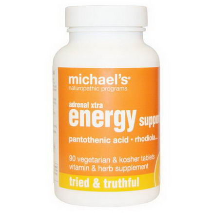 Michael's Naturopathic, Adrenal Xtra Energy Support, 90 Veggie Tabs